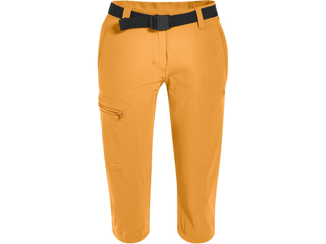 Maier Sports Inara Slim 3/4 Hose Damen blazing orange